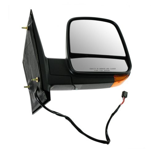 08-12 GM Full Size Van Power Heated w/TS Black Textured Mirror RH