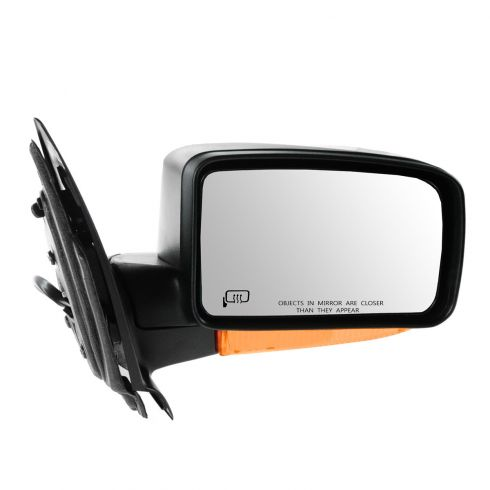 03-06 Expedition Power Heated w/Puddle Light (w/Turn Signal w/Amber Lense) Textured Black Mirror RH