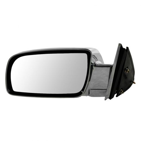 88-00 GM Full Size PU; 92-99 FS SUV, Suburban Manual ALL CHROME Mirror LH