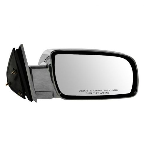 88-00 GM Full Size PU; 92-99 FS SUV, Suburban Manual ALL CHROME Mirror RH