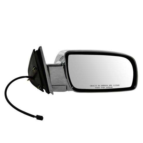 92-00 GM Full Size PU; 92-99 FS SUV, Suburban ALL CHROME Power Mirror RH