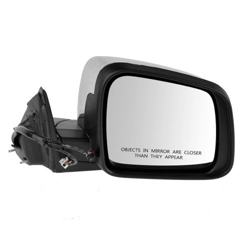 11-13 Jeep Grand Cherokee Pwr, Htd, Turn Signal, Mem, (w/o Blind Spot Detect) w/Chrome Cap Mirror RH