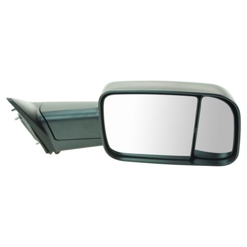 13 Ram 1500, 2500 Manual Textured Black Tow Mirror RH