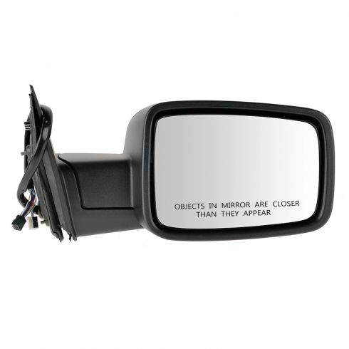 13 Ram 1500, 2500 Power Folding, Heated, Turn Signal, Puddle Light, Memory w/Chrome Cover Mirror RH