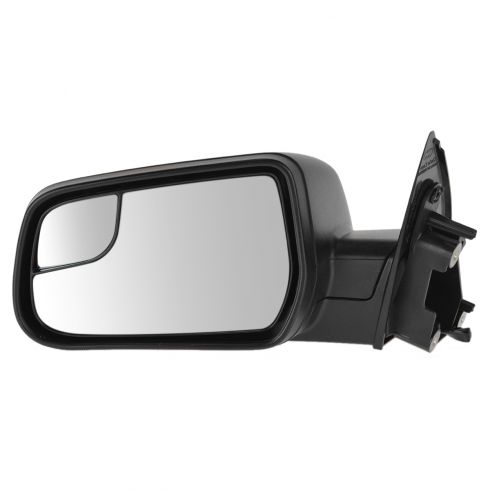 12-14 Chevy Equinox Textured Black Power Mirror w/Convex Insert LH