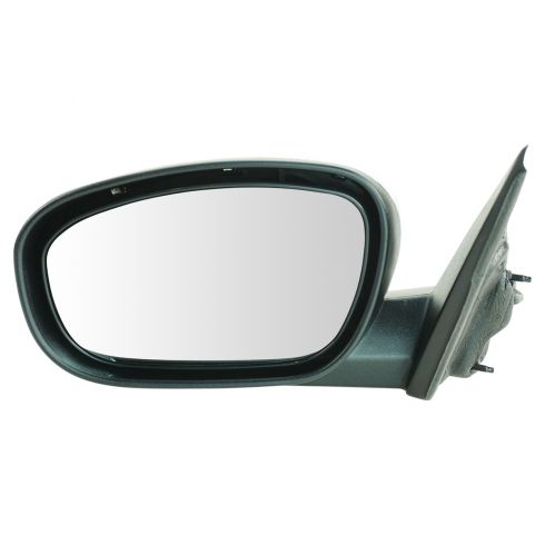 06-10 Chrysler 300, Dodge Charger; 05-08 Magnum Non Folding Power Heated Black w/Chrme Cap Mirror LH