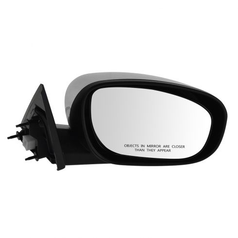 06-10 Chrysler 300, Dodge Charger; 05-08 Magnum Non Folding Power Heated Black w/Chrme Cap Mirror RH