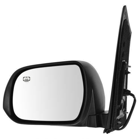 13-14 Toyota Sienna Power, Heated w/Blind Spot Protection & PTM Cap Mirror LH