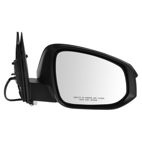 13-14 Toyota Rav4 Power Textured Black Mirror RH
