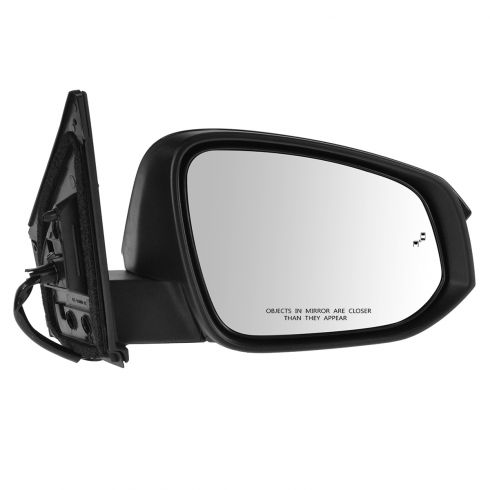 13-14 Toyota Rav4 (w/Blind Spot Protection) Power, Heated, w/Turn Signal w/PTM Cap Mirror RH