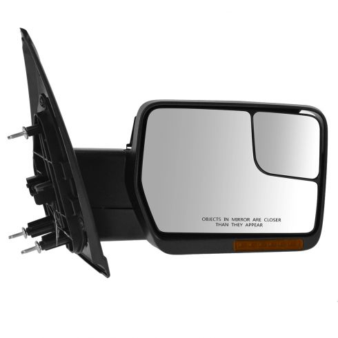 04-08 F150 Pwr Fld, Dual Htd Glass, Dual LED Turn Signl, PL, Chrm & Txt Caps Mirror RH (Upgrade)