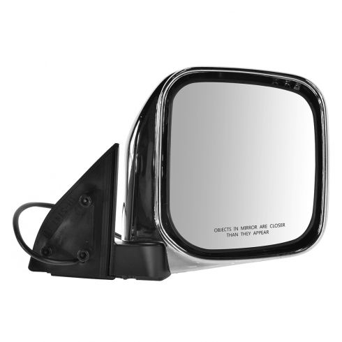 97-04 Mitsubishi Montero Sport Chrome Power Mirror RH