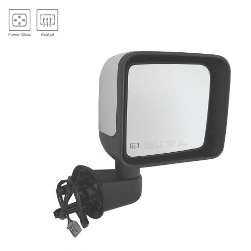 2014 Jeep Wrangler Power, Heated w/Chrome Cap Mirror RH