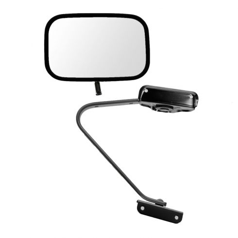 80-96 Bronco Manual Swing lock Chrome Mirror LH=RH (Dorman)