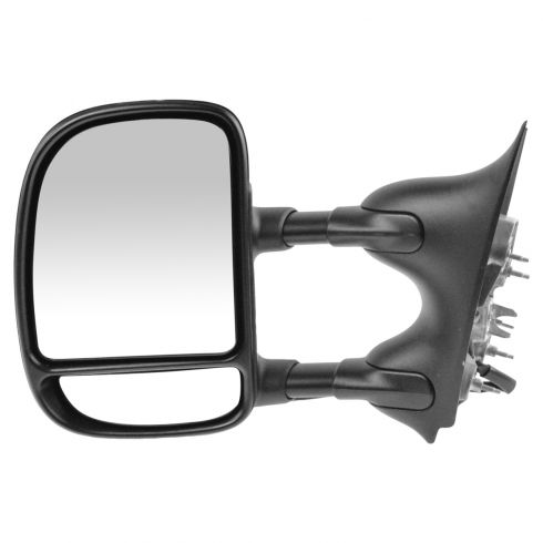 99-04 Ford F250SD-F550SD Power Towing Dual Arm Dual Swing Telescoping Mirror LH (Ford)