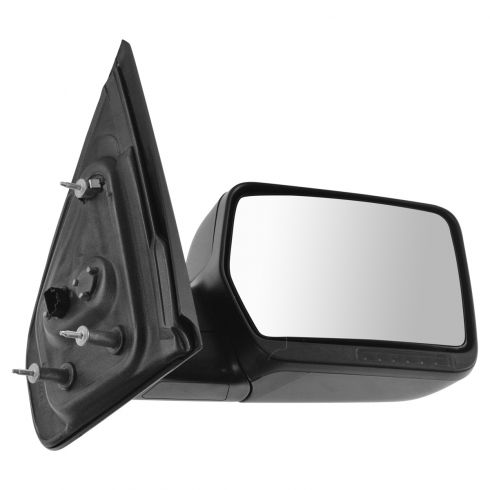 07-08 Ford F150, Lincoln Mark LT Power Heated w/Turn Signal Text Cap Manual Folding Mirror RH (Ford)
