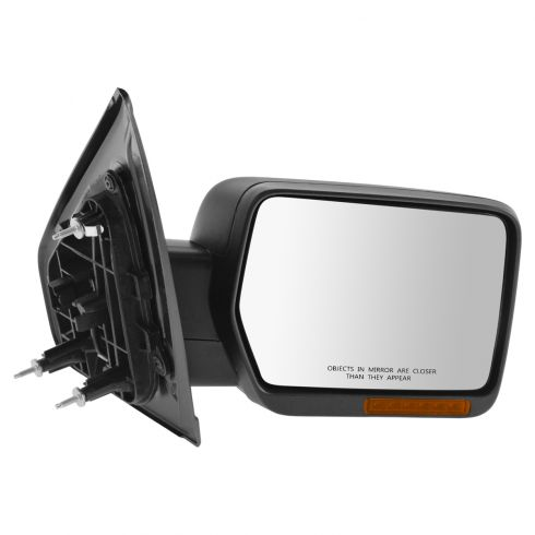 11-14 Ford F150 Power Folding, Heated, Turn Signal, Textured Black Non Tow Mirror RH (Ford)