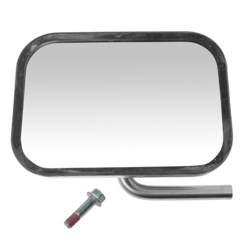 92-96 Bronco, F150; 92-97 F350, F450; 92-07 FS Van Chrome Mirror Head & Swing Arm LH = RH (Ford)