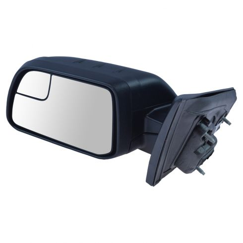 11(frm 1/24/11)-14 Ford Edge Power Textured Black w/Spotter Glass Mirror LH (Ford)