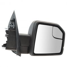 15-16 Ford F150 Textured Black Power Mirror w/Spotter Glass RH (Ford)