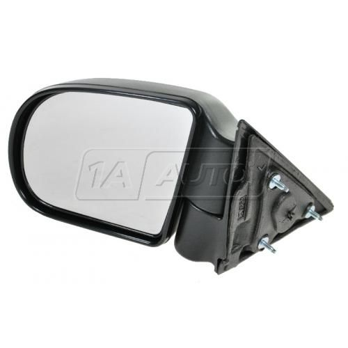 98-04 S10 Manual Mirror Blk LH