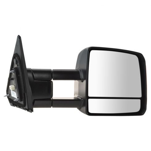 07-15 Toyota Tundra Pwr, Htd, Dual Arm, Dual Glass, TS on Hsg, Man Extending Tow Mirror RH (Toyota)