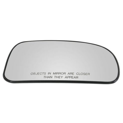 2002-09 GM Mid Size Suv Power Heated (exc Pwr Fold) w/ Back Plate Mirror Glass RH