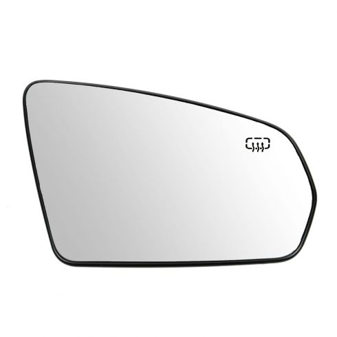 08-12 Avenger; 07-10 Sebring Sdn; 08-10 Sebring Conv w/Folding Pwr Heated Mirror Glass w/Backing RH