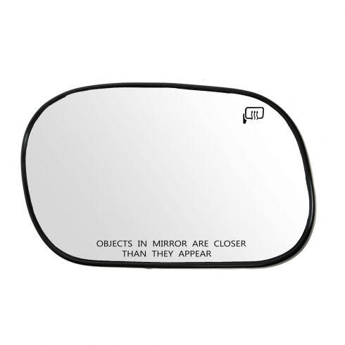 98-11 Ford Crown Victoria, Mercury Grand Marquis; 03-04 Marauder Power Heated Mirror Glass w/Bckg RH