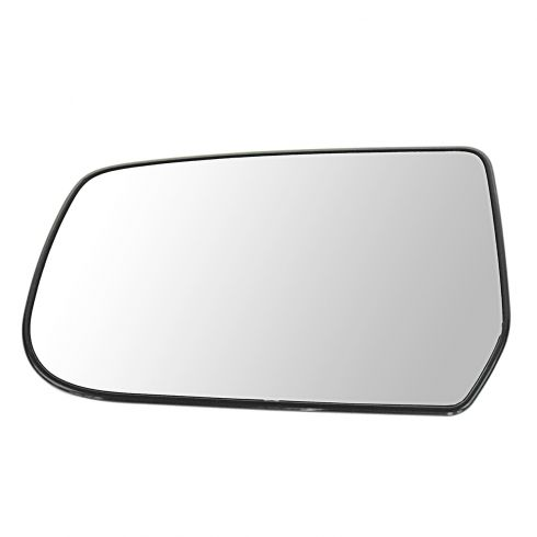 10-11 Chevy Equinox, GMC Terrain Power Mirror Glass w/Backing Plate LH
