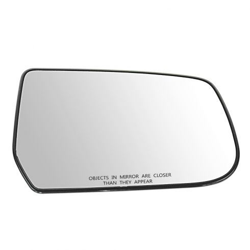 10-11 Chevy Equinox, GMC Terrain Power Mirror Glass w/Backing Plate RH