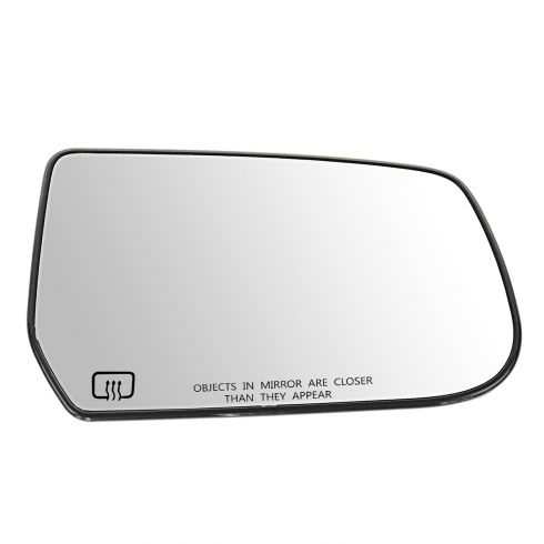 10-11 Chevy Equinox, GMC Terrain Power Heated Mirror Glass w/Backing Plate RH