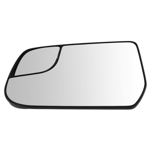 12-13 Chevy Equinox, GMC Terrain Power Mirror Glass w/Backing Plate LH
