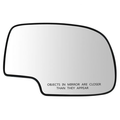 99-07 GM Full Size PU, SUV Mirror Glass (w/4 3/8 Diag) w/Backing Plate RH