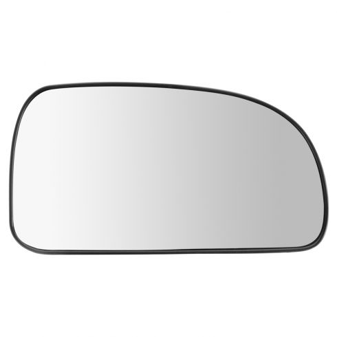 02-09 GM Mid Size SUV Multifit Non Heated Manual Mirror Glass w/Backing Plate RH