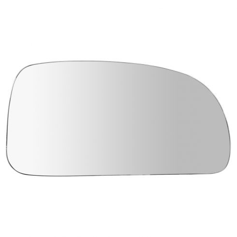 02-09 GM Mid Size SUV Multifit Non Heated Manual Mirror Glass Only Stick On (No Backing Plate) RH
