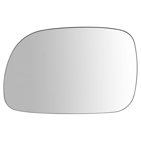 96-07 Chrysler Mini Van Non Htd Mirror Glass Only Stick On (No Backing Plate) LH