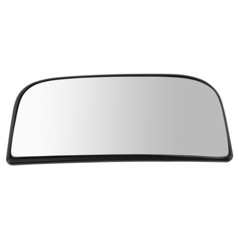 88-13 Chevy, GMC Pickup, SUV (w/Tow Mirror) Lower Convex Glass w/Backing Plate & Install Manual RH
