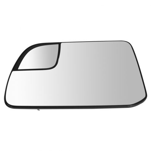 11 (from 2/28/11)-14 Edge; 11-14 MKX Power Heated Mirror Glass w/Spotter Glass & Backing LH (Ford)