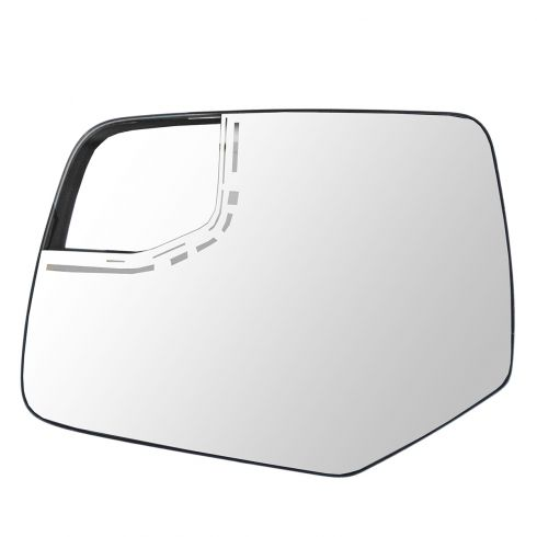 10-12 Ford Escape; 10-11 Mercury Mariner(w/Blind Spot Monitor) Power Mirror Glass LH (FORD)