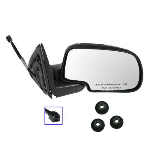 GMC Chevy Truck Heated Power Mirror With Mounting Hardware RH
