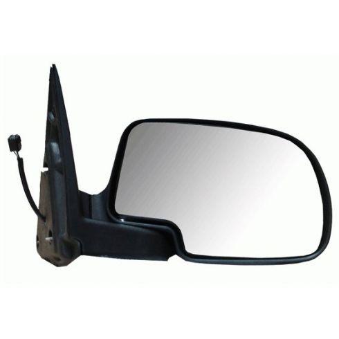 Chevy Silverado Chrome Back Power Mirror With Mounting Hardware RH