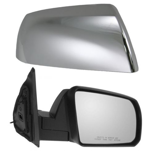 2007-09 Toyota Tundra; 2008-09 Sequoia Mirror Manual w/Chrome Cap RH