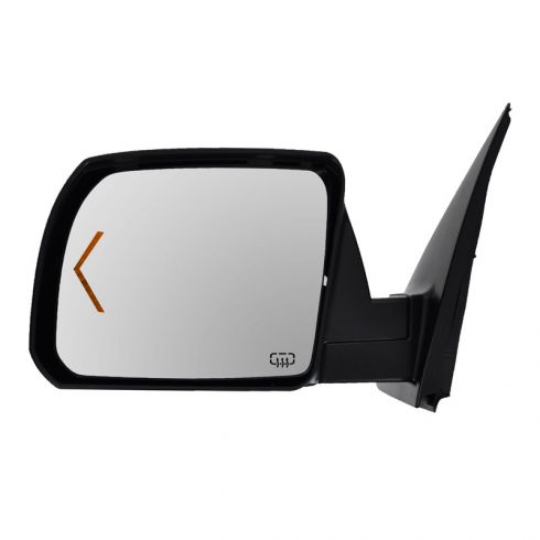 Mirror POWER HEATED with TURN SIGNAL and Chrome Cap Driver Side