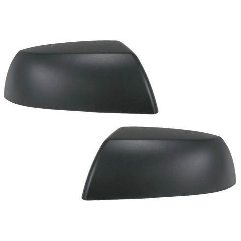 2007-09 Tundra; 2008-09 Sequoia Mirror CAP BLACK TEXTURED PAIR