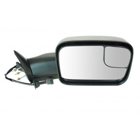 1994-97 Dodge Ram PU Pwr Tow Mirror w/Sup Brkt RH