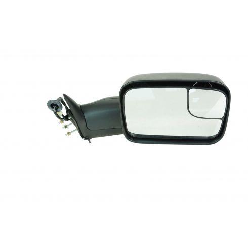 98-02 Dodge Ram PU Pwr Htd Tow Mirror w/Sup Brkt RH