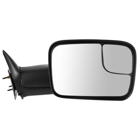 1994-02 Dodge Ram PU Manual Tow Mirror w/Brkt RH