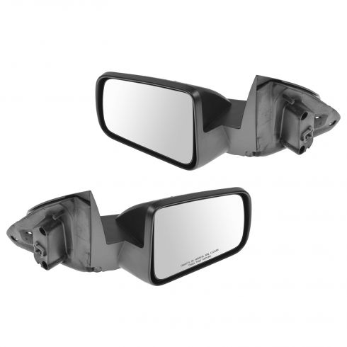 08-11 Ford Focus Textured Black Power Mirror Pair(Ford)