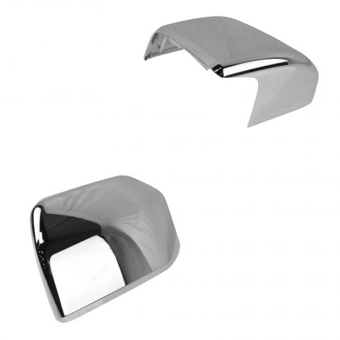 15-16 Ford F150 (w/o Dual Arm Towing Mirror) Chrome Mirror Cap PAIR (Ford)